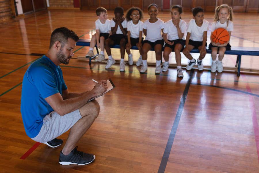 Basketball mit Kindern #1: Der richtige Einstieg