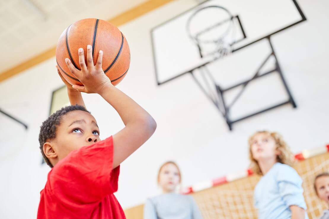 Basketball mit Kindern #4: der Positionswurf