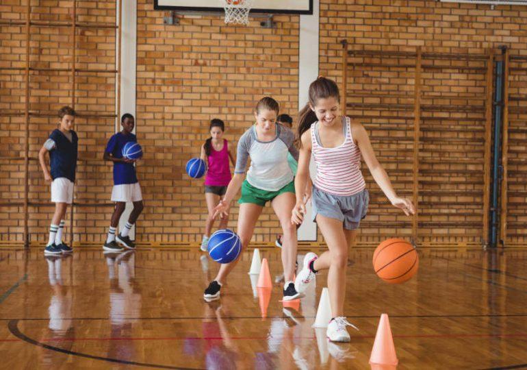 Basketball mit Kindern #2: das Dribbeln