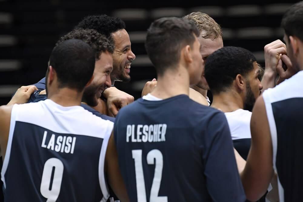 Brose Bamberg Team freut sich