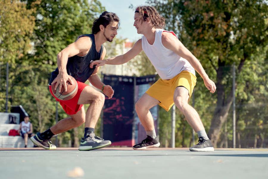 Streetball #5: Anfängertricks gegen Verteidiger (Teil 2)
