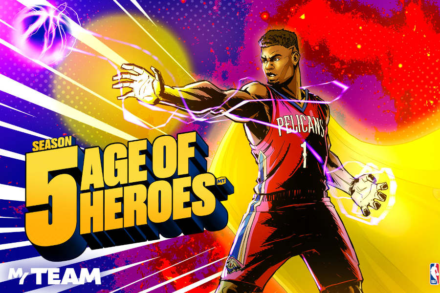 NBA 2K21: Age of Heroes – die fünfte Season