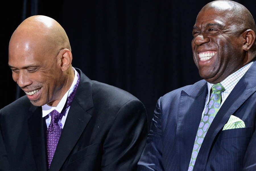 Magic Johnson & Kareem Abdul-Jabbar – eine unvergessliche Lakers-Dynastie: Die besten Duos der NBA #3
