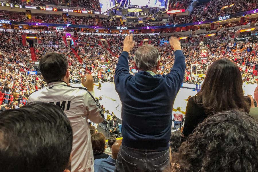 Miami Heat spielt in eigener Halle