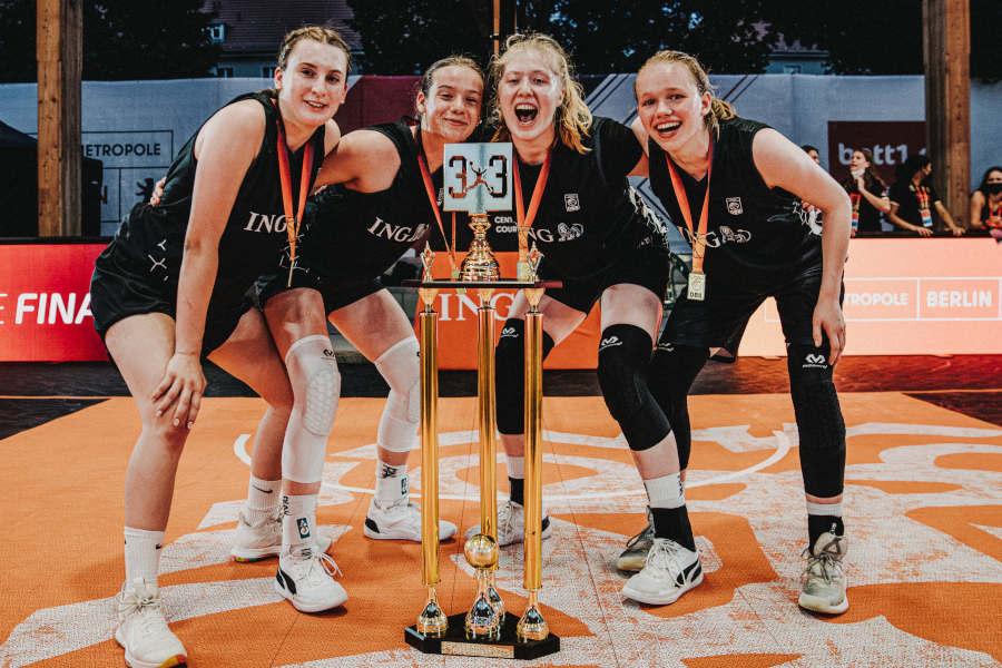 """""""Im 3×3 gibt es viel mehr Energie auf dem Feld"""" – Exklusiv-Interview mit dem Sieger-Team U18 weiblich der Championship Trophy 2021"""