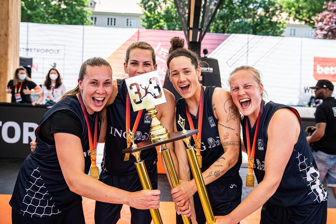 3x3 Championship Trophy 2021 in Berlin Team Hannover