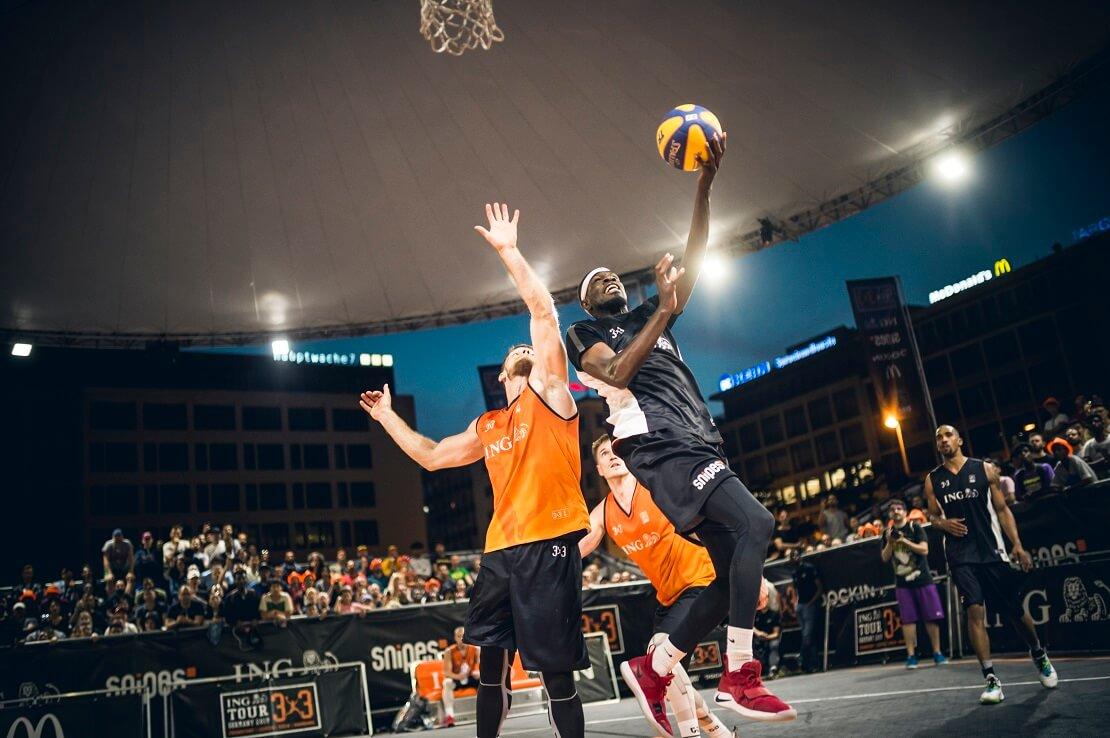 3x3-Turnier in Frankfurt
