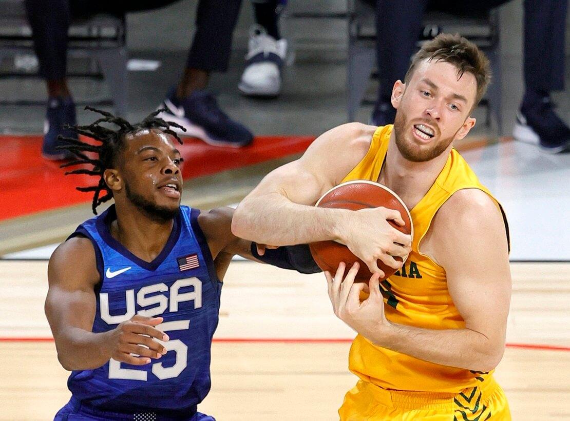 Basketball goes Olympia: Team USA gegen Team Australien