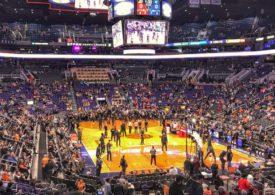 Halle der Phoenix Suns