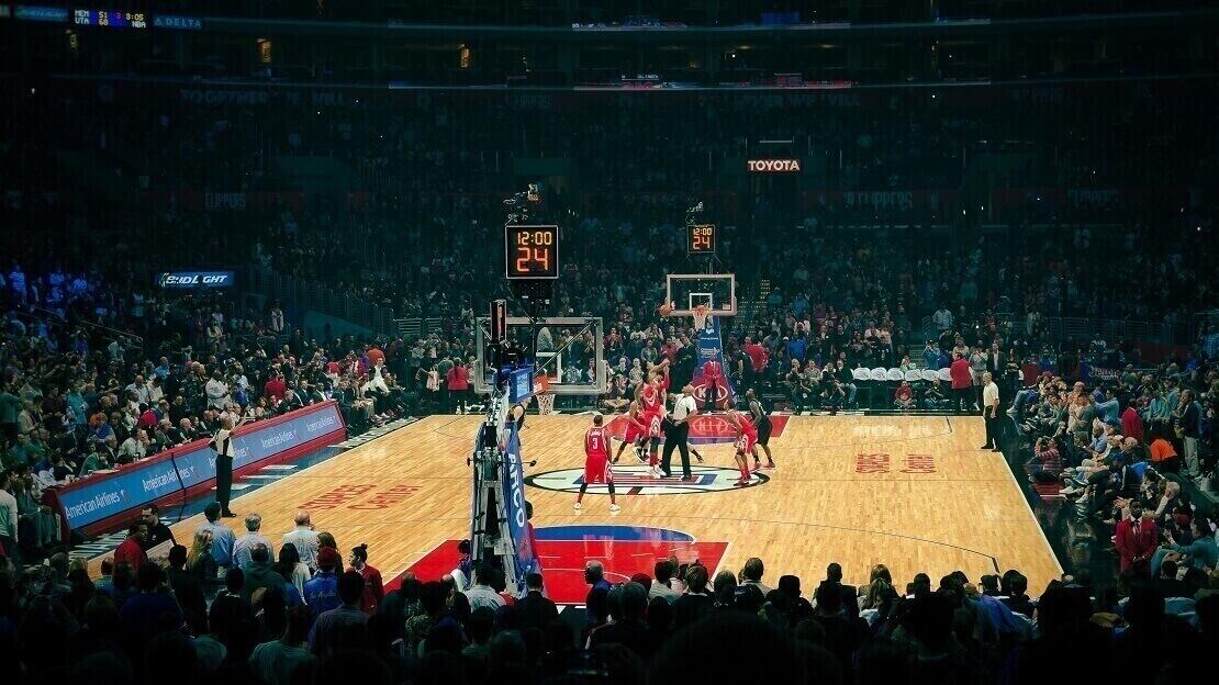 Ein Spiel der LA Clippers