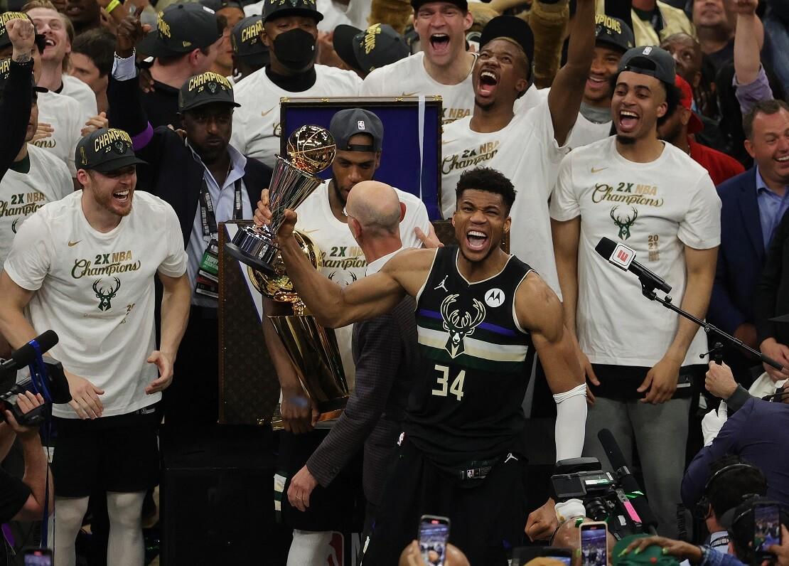 NBA-Champions 2021 Milwaukee Bucks