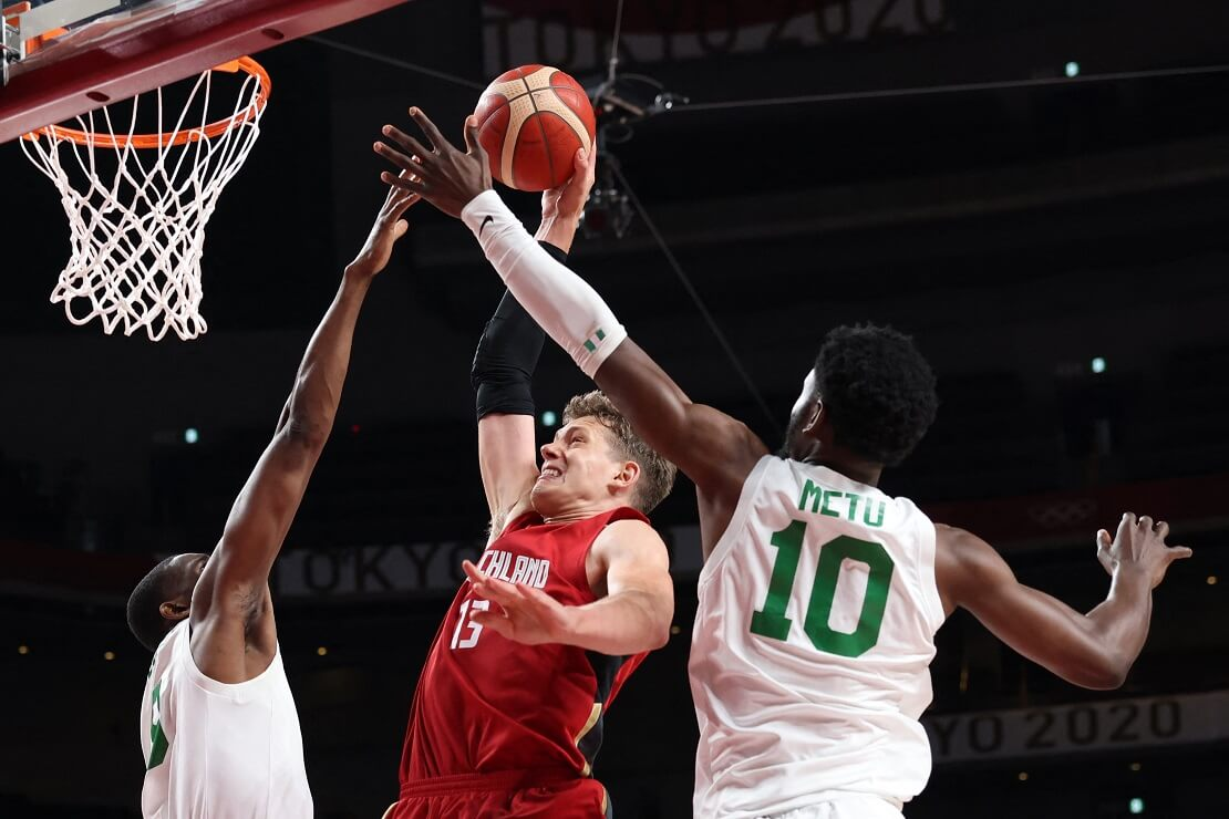 Olympia Deutschland gegen Nigeria