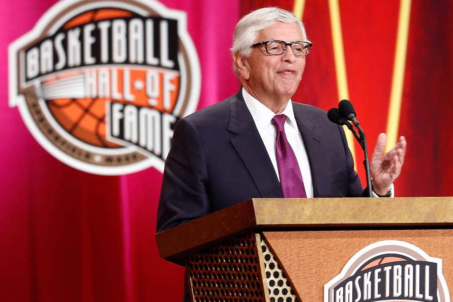 David Stern in Basketball Hall of Fame der Frauen aufgenommen