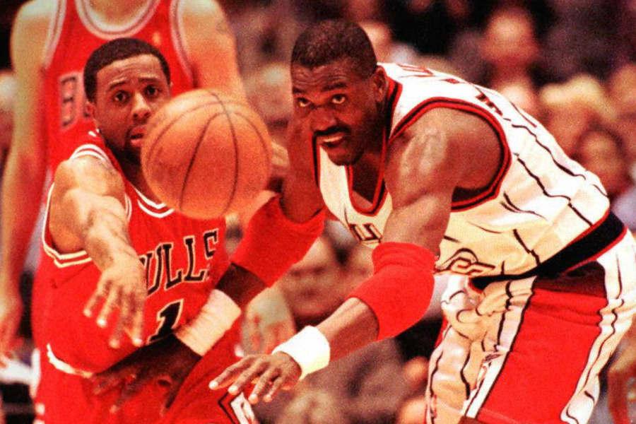 Hakeem Olajuwon bei den Rockets