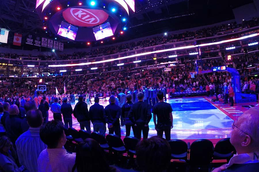Ein Spiel der Lakers