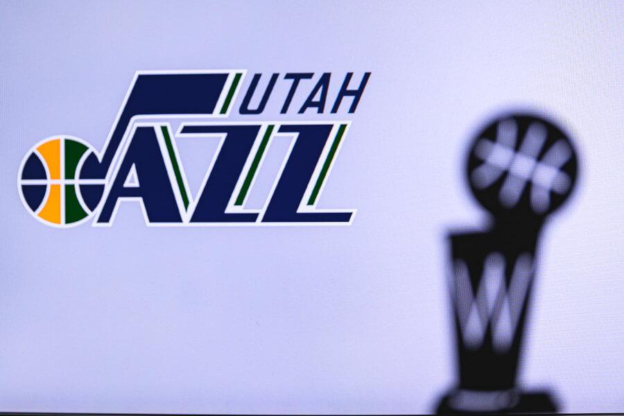 Logo der Utah Jazz
