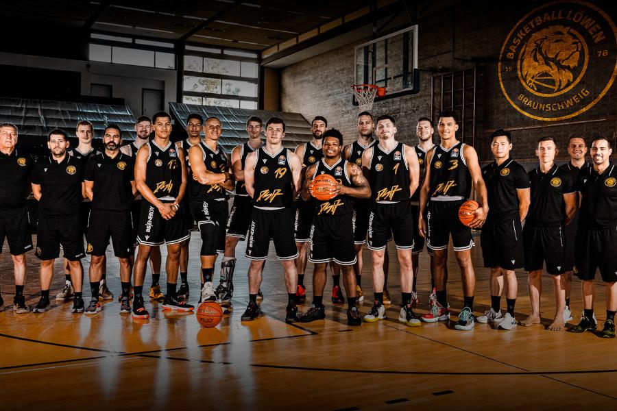 Teamportraits 2021/22: Basketball Löwen Braunschweig