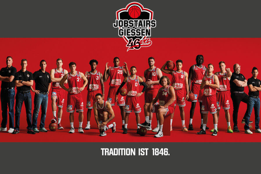 Teamportraits 2021/22: Jobstairs Gießen 46ers