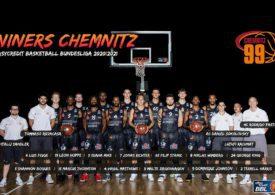 Teamfoto NINERS Chemnitz 2020/21