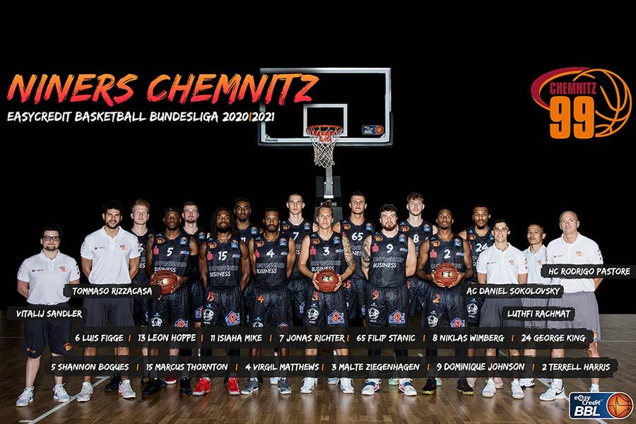 Teamportraits 2021/22: NINERS Chemnitz