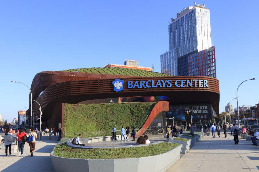 Das Barclays Center in Brooklyn.