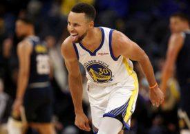 Stephen Curry liefert irre Show gegen die Portland Trail Blazers ab